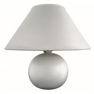 RABALUX 4901 | Ariel Rabalux asztali lámpa 19cm vezeték kapcsoló 1x E14 fehér