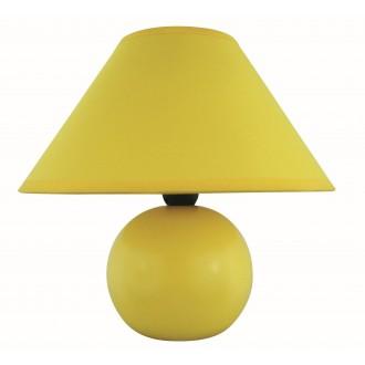 RABALUX 4905 | Ariel Rabalux asztali lámpa 19cm vezeték kapcsoló 1x E14 sárga