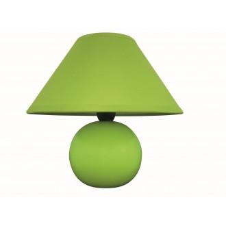 RABALUX 4907 | Ariel Rabalux asztali lámpa 19cm vezeték kapcsoló 1x E14 zöld
