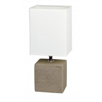 RABALUX 4930 | OrlandoR Rabalux asztali lámpa 30cm vezeték kapcsoló 1x E14 kakaó, natúr