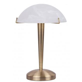 RABALUX 4990 | LucyR Rabalux asztali lámpa 34cm fényerőszabályzós érintőkapcsoló szabályozható fényerő 1x E14 bronz, fehér