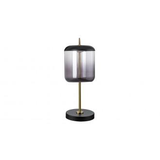 RABALUX 5026 | Delice Rabalux asztali lámpa 34cm vezeték kapcsoló 1x LED 480lm 4000K fekete, bronz, füst