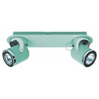 RABALUX 5034 | April-RA Rabalux spot lámpa elforgatható alkatrészek 2x GU10 menta, króm