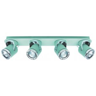RABALUX 5036 | April-RA Rabalux spot lámpa elforgatható alkatrészek 4x GU10 menta, króm