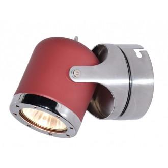 RABALUX 5037 | April-RA Rabalux spot lámpa elforgatható alkatrészek 1x GU10 piros, króm