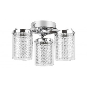 RABALUX 5042 | Astrella Rabalux mennyezeti lámpa 1x LED 1350lm 4000K króm, átlátszó, kristály