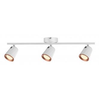 RABALUX 5047 | Solange Rabalux spot lámpa elforgatható alkatrészek 1x LED 1140lm 3000K fehér, arany