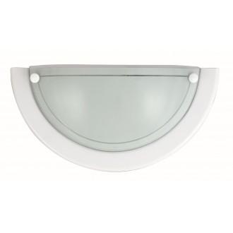 RABALUX 5161 | Ufo3 Rabalux fali lámpa 1x E27 fehér, opál