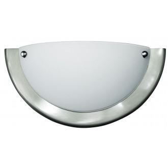 RABALUX 5181 | Ufo2 Rabalux fali lámpa 1x E27 matt króm, fehér