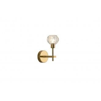 RABALUX 5394 | Kassia-RA Rabalux falikar lámpa 1x G9 arany, kristály