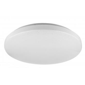 RABALUX 5436 | Rob-RA Rabalux mennyezeti lámpa kerek 1x LED 2600lm 4000K fehér, csillogó
