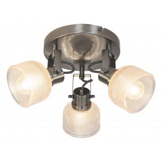 RABALUX 5439 | Francis-RA Rabalux spot lámpa elforgatható alkatrészek 3x E14 szatén króm, átlátszó