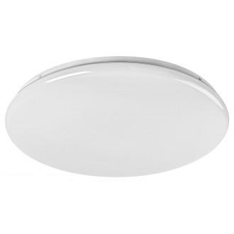 RABALUX 5450 | Danny Rabalux mennyezeti lámpa kerek távirányító szabályozható fényerő, állítható színhőmérséklet, időkapcsoló 1x LED 4800lm 3000 <-> 6500K fehér