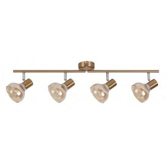 RABALUX 5550 | Holly-RA Rabalux spot lámpa elforgatható alkatrészek 4x E14 antikolt arany, borostyán