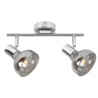 RABALUX 5556 | Holly-RA Rabalux spot lámpa elforgatható alkatrészek 2x E14 króm, füst