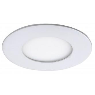 RABALUX 5568 | Lois Rabalux beépíthető LED panel kerek Ø85mm 85x85mm 1x LED 170lm 4000K matt fehér, fehér