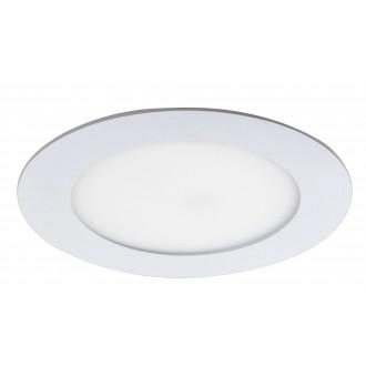 RABALUX 5569 | Lois Rabalux beépíthető LED panel kerek Ø120mm 120x120mm 1x LED 350lm 4000K matt fehér, fehér