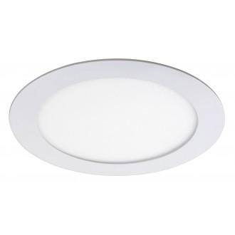 RABALUX 5570 | Lois Rabalux beépíthető LED panel kerek Ø170mm 170x170mm 1x LED 800lm 4000K matt fehér, fehér