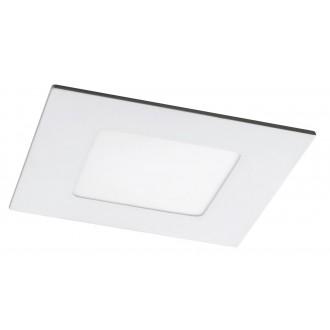 RABALUX 5576 | Lois Rabalux beépíthető LED panel négyzet 90x90mm 1x LED 170lm 4000K matt fehér, fehér
