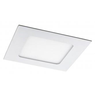 RABALUX 5577 | Lois Rabalux beépíthető LED panel négyzet 120x120mm 1x LED 350lm 4000K matt fehér, fehér