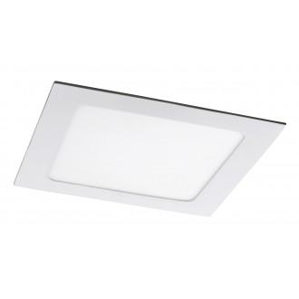 RABALUX 5578 | Lois Rabalux beépíthető LED panel négyzet 170x170mm 1x LED 800lm 4000K matt fehér, fehér