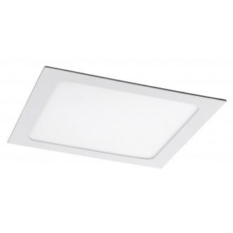 RABALUX 5579 | Lois Rabalux beépíthető LED panel négyzet 220x220mm 1x LED 1400lm 4000K matt fehér, fehér