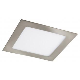 RABALUX 5582 | Lois Rabalux beépíthető LED panel négyzet 170x170mm 1x LED 800lm 3000K szatén króm, fehér