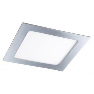 RABALUX 5591 | Lois Rabalux beépíthető LED panel négyzet 170x170mm 1x LED 800lm 3000K IP44 króm, fehér