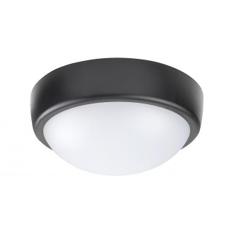 RABALUX 5621 | Boris-RA Rabalux fali, mennyezeti lámpa 1x LED 800lm 4000K IP54 fehér, fekete
