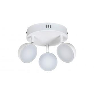 RABALUX 5624 | Hedwig Rabalux spot lámpa távirányító szabályozható fényerő, állítható színhőmérséklet, elforgatható alkatrészek 3x LED 1050lm 2700 <-> 5000K matt fehér