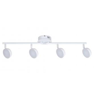 RABALUX 5625 | Hedwig Rabalux spot lámpa távirányító szabályozható fényerő, állítható színhőmérséklet, elforgatható alkatrészek 4x LED 1400lm 2700 <-> 5000K matt fehér