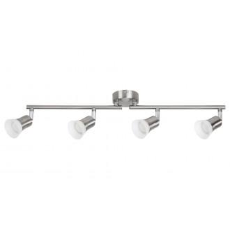 RABALUX 5630   Riley-RA Rabalux spot lámpa elforgatható alkatrészek 4x LED 1400lm 3000K szatén króm, opál