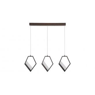RABALUX 5644 | Silvana Rabalux függeszték lámpa 1x LED 3600lm 3000K metál barna