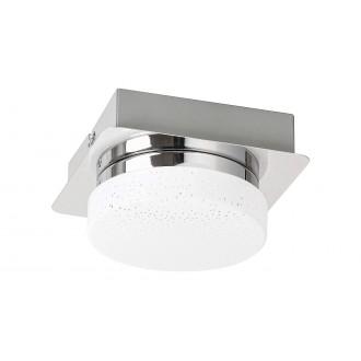 RABALUX 5661 | Hilary Rabalux fali, mennyezeti lámpa 1x LED 400lm 4000K króm, opál, kristály hatás