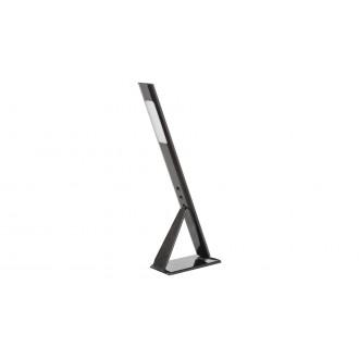 RABALUX 5700 | Guido Rabalux asztali lámpa 38cm vezeték kapcsoló elforgatható alkatrészek 1x LED 400lm 4000K fekete