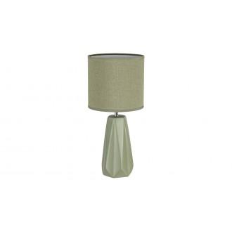 RABALUX 5703 | Amiel Rabalux asztali lámpa 43cm kapcsoló 1x E27 zöld, króm