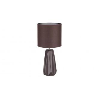 RABALUX 5704 | Amiel Rabalux asztali lámpa 43cm kapcsoló 1x E27 barna, króm