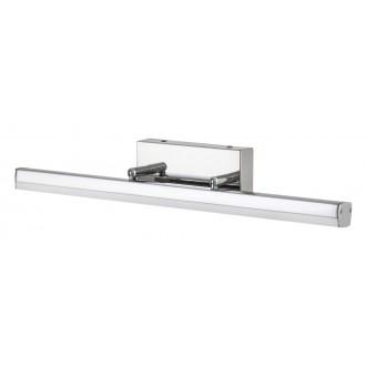 RABALUX 5727 | SilasR Rabalux tükörmegvilágító lámpa elforgatható alkatrészek 1x LED 1700lm 4000K IP44 króm, fehér