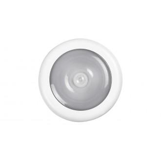 RABALUX 5730 | Milo-RA Rabalux bútormegvilágító lámpa mozgásérzékelő elemes/akkus 1x LED 30lm 4000K fehér, átlátszó