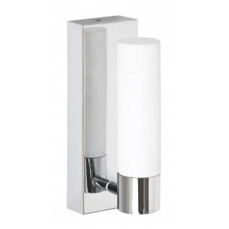RABALUX 5749 | JimR Rabalux falikar lámpa 1x LED 400lm 4000K IP44 króm, fehér