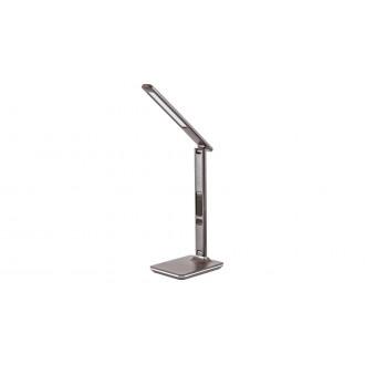 RABALUX 5773 | Elias-RA Rabalux asztali lámpa 38,5cm fényerőszabályzós érintőkapcsoló szabályozható fényerő, állítható színhőmérséklet, elforgatható alkatrészek 1x LED 400lm 2700 <-> 5500K barna