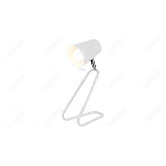 RABALUX 5777 | Olaf-RA Rabalux asztali lámpa 33cm vezeték kapcsoló elforgatható alkatrészek 1x E14 fehér
