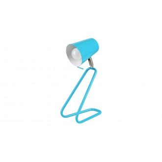 RABALUX 5778 | Olaf-RA Rabalux asztali lámpa 33cm vezeték kapcsoló elforgatható alkatrészek 1x E14 kék