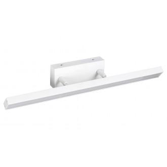 RABALUX 5782 | Andrew Rabalux falikar lámpa elforgatható alkatrészek 1x LED 820lm 3000K IP44 matt fehér
