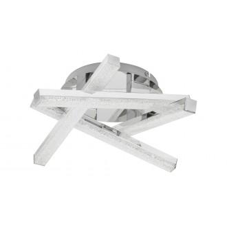 RABALUX 5789 | Chelsea-RA Rabalux mennyezeti lámpa 1x LED 1280lm 3000K króm, kristály