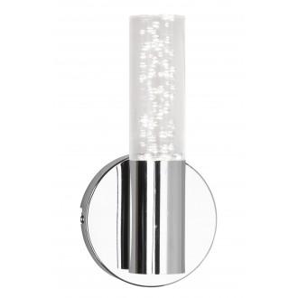 RABALUX 5797 | Aphrodite Rabalux falikar lámpa 1x LED 380lm 3000K króm, átlátszó
