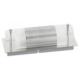 RABALUX 5800 | Periodic Rabalux fali, mennyezeti lámpa 1x E14 króm, átlátszó, fehér