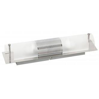 RABALUX 5808 | Periodic Rabalux fali, mennyezeti lámpa 2x E14 króm, átlátszó, fehér