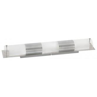 RABALUX 5809 | Periodic Rabalux fali, mennyezeti lámpa 3x E14 króm, átlátszó, fehér