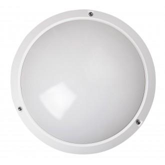 RABALUX 5810 | Lentil Rabalux fali, mennyezeti lámpa 1x E27 IP54 fehér